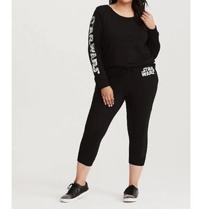 Torrid Star Wars Active Pullover & Jogger Set